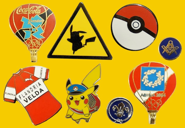 pokemon and coca cola related pins